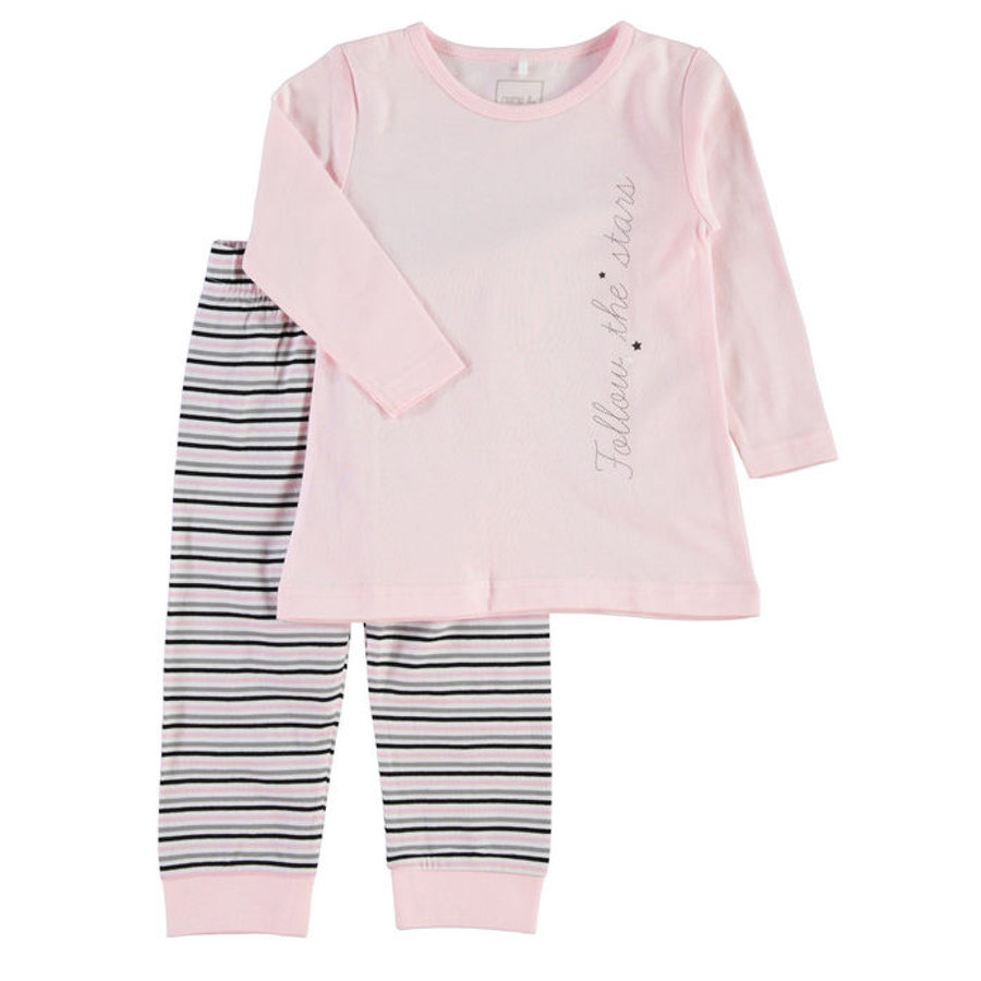 NAME IT Girls Schlafanzug 2-teilig ballerina
