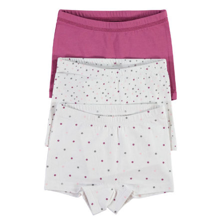 NAME IT Girls Panty 3er Pack bright white
