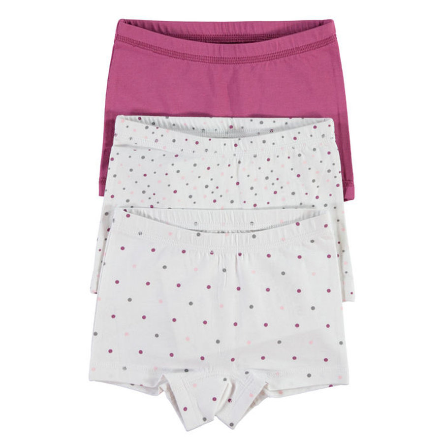 NAME IT Girls Panty 3 stuks bright white