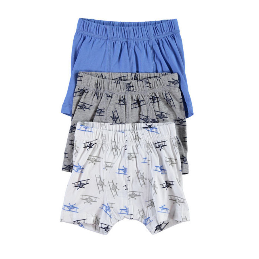 NAME IT Boys Boxershort 3er Pack regatta