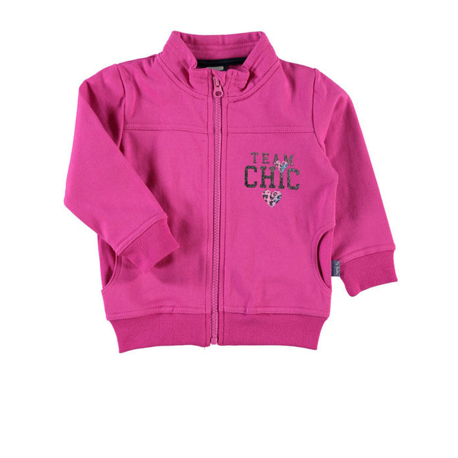 NAME IT Girls Sweatjacke NITVENA raspberry rose