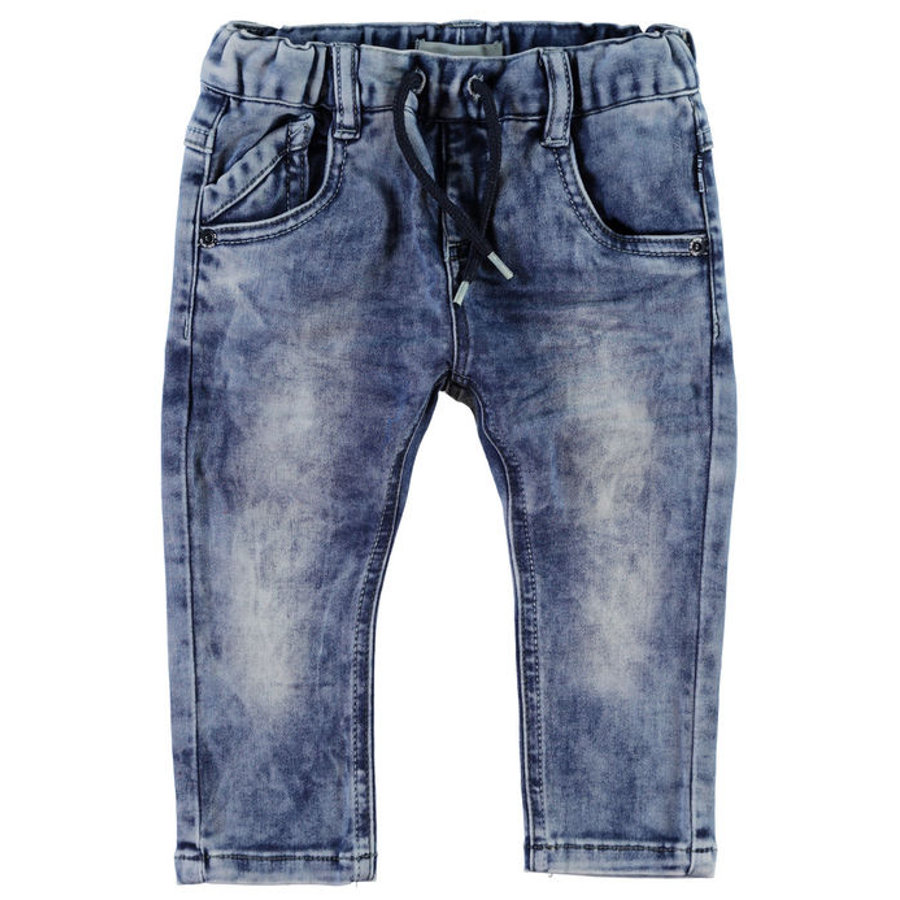 NAME IT Boys Džíny NITROSS light blue denim