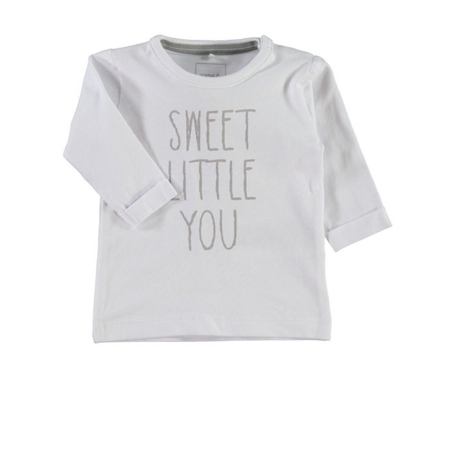 NAME IT Baby Longsleeve NITUB bright white