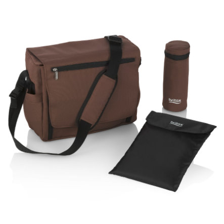 Britax Wickeltasche Wood Brown