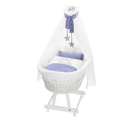 Alvi® Berceau complet Birthe, blanc, 648-1 Oursons