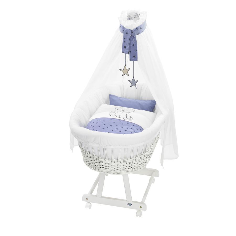 Alvi® Komplettstubenwagen Birthe weiß 648-1 Bärenkinder