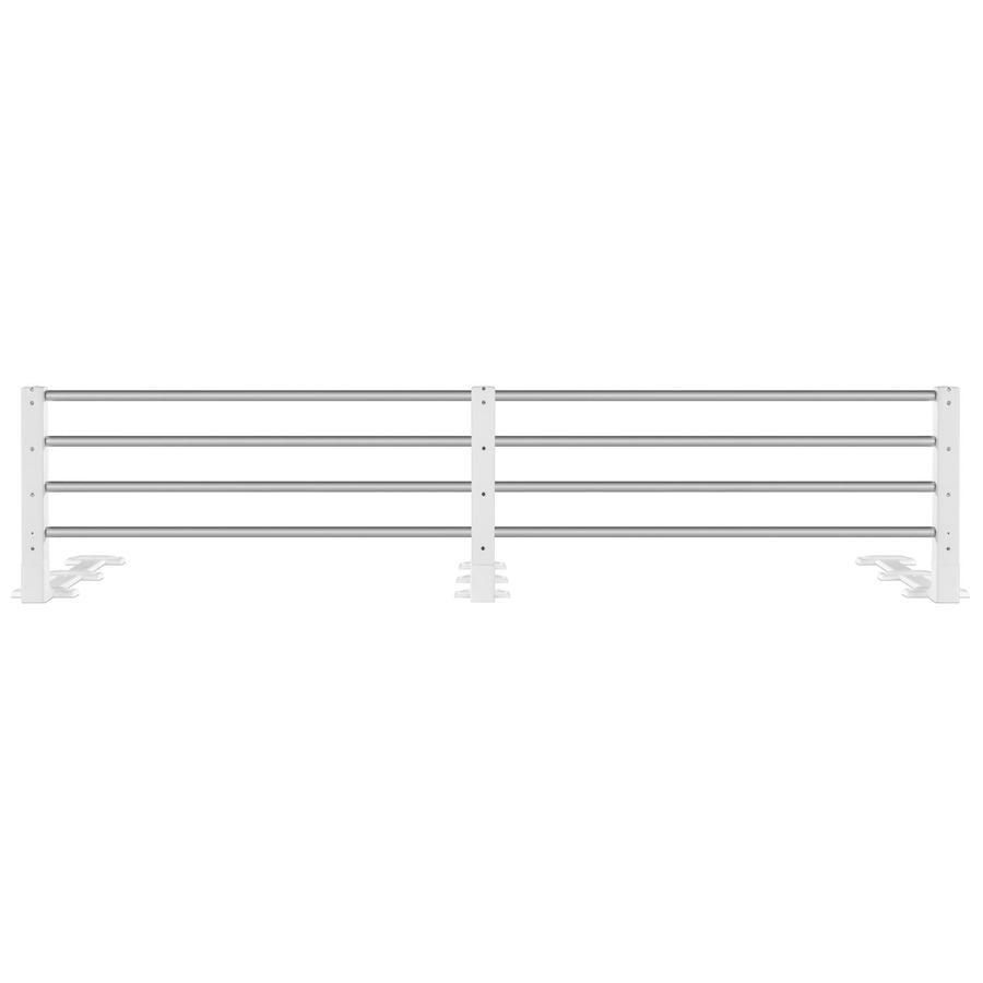 REER Barierka ochronna do łóżka (4504) kolor biały
