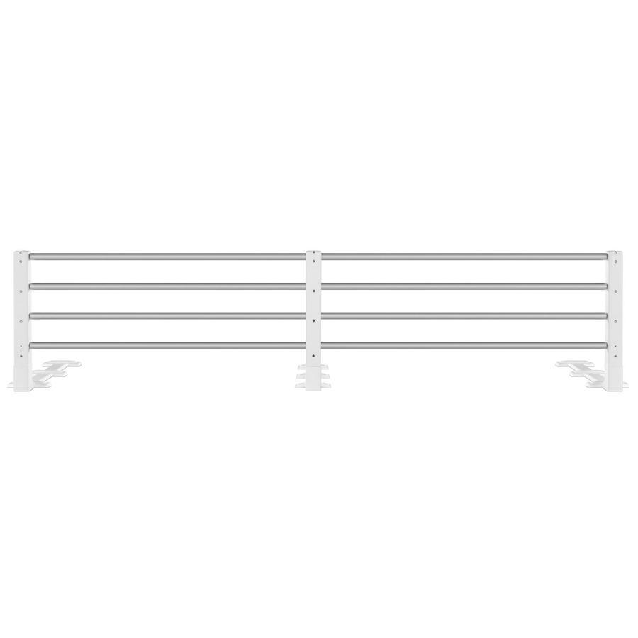 REER Barrera de cama blanco (4504)