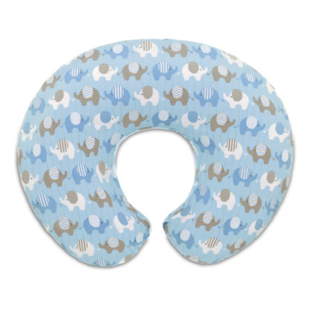 CHICCO Housse BOPPY, coton, elephants blue
