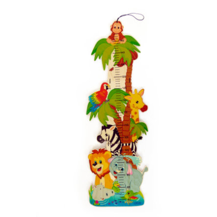 HESS Toise enfant jungle bois 14626