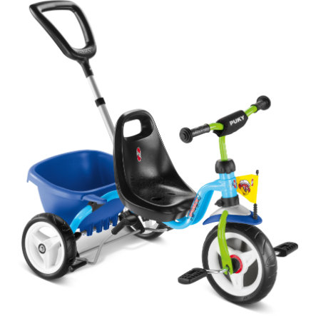 PUKY Tricycle CAT 1S, bleu/kiwi
