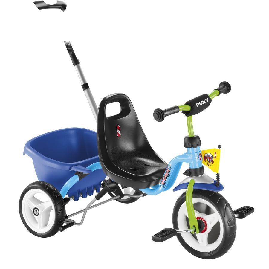 PUKY Trehjuling CAT 1S - blå/kiwi