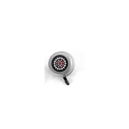 PUKY Clochette klaxon G22 pour draisiennes, trottinettes, vélos, argent