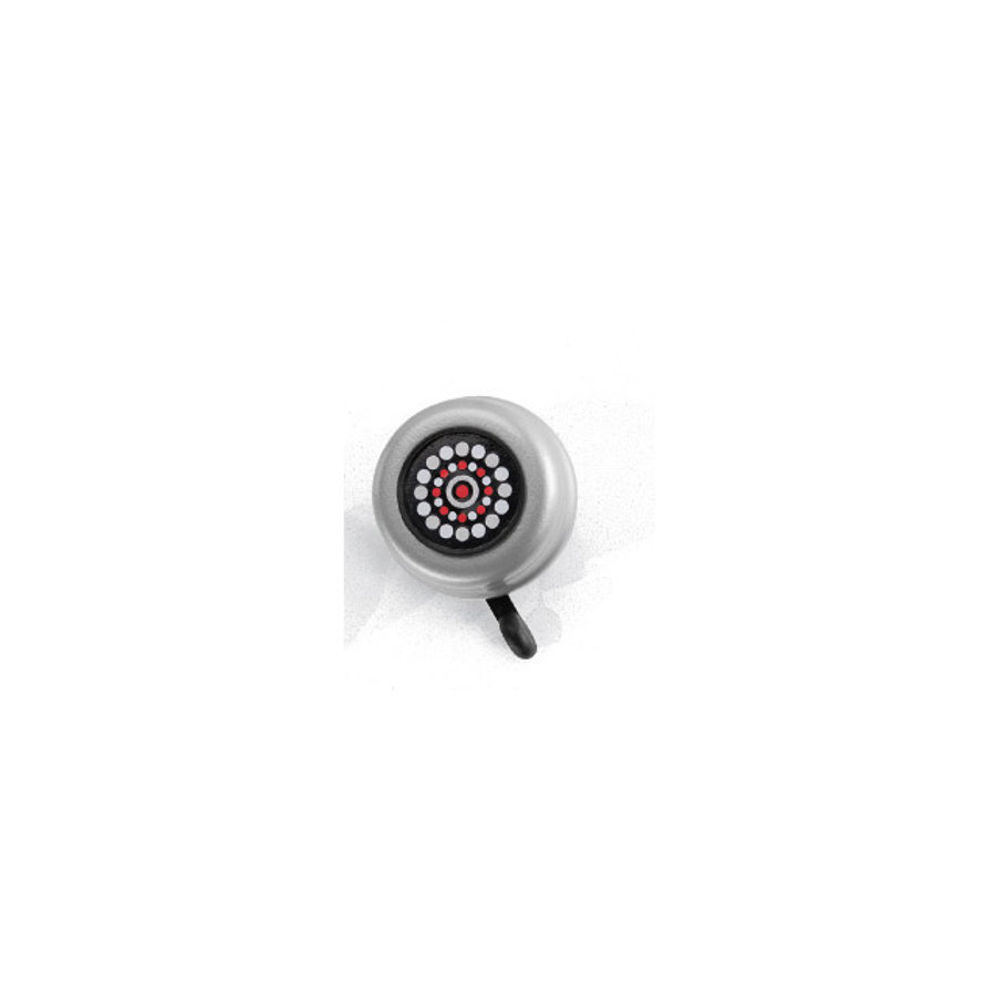 PUKY® Sicherheitsglocke G22 für Laufräder, Roller,Fahrräder - silber