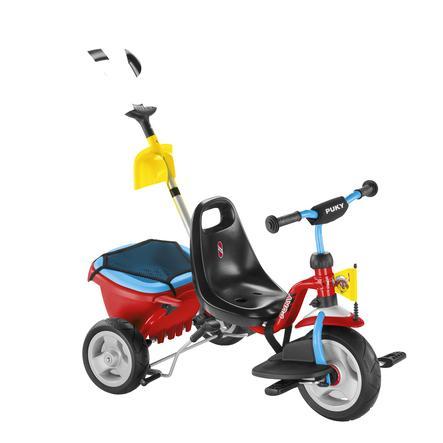 PUKY Rowere trójkołowy CAT 1 SP - red/blue