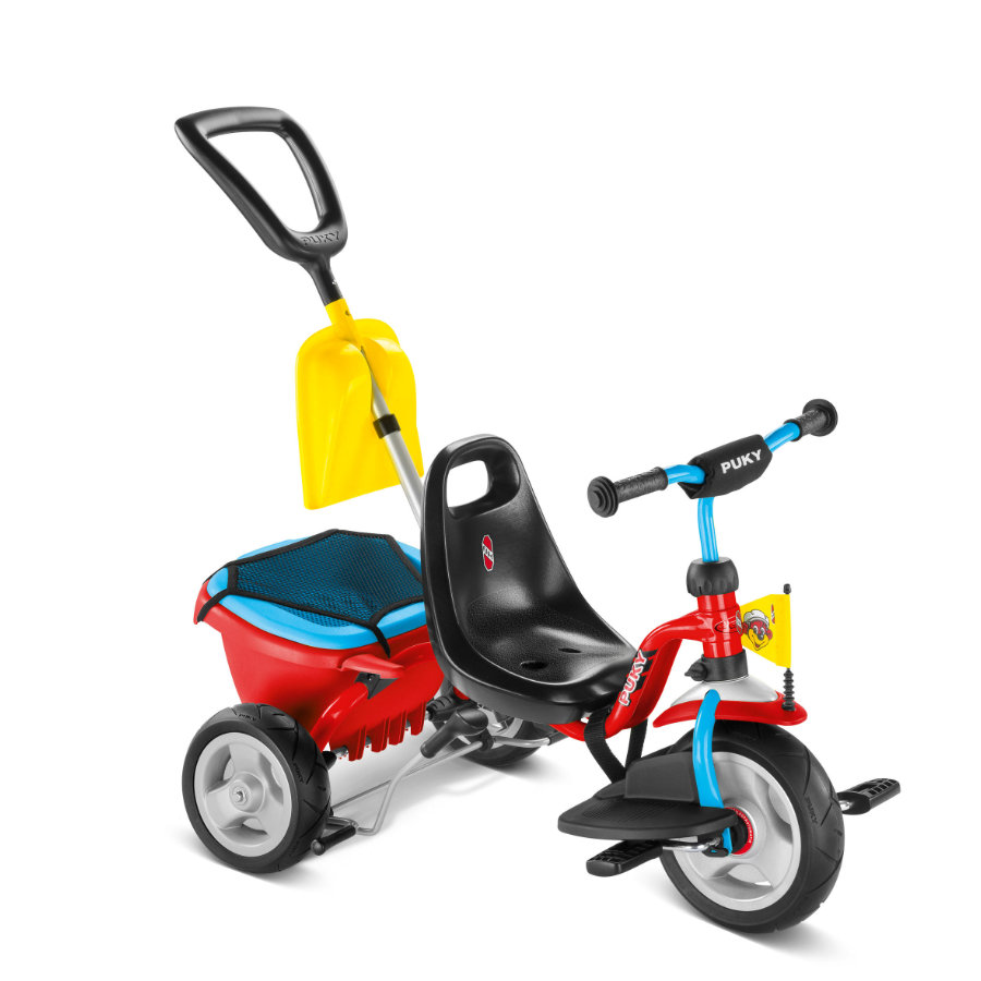 PUKY Trehjuling CAT 1 SP - röd/blå