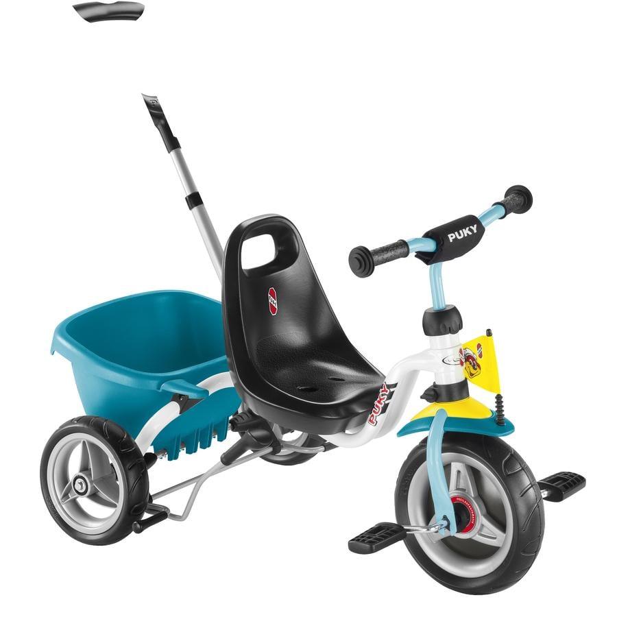 PUKY Trehjuling CAT 1S - vit/mint