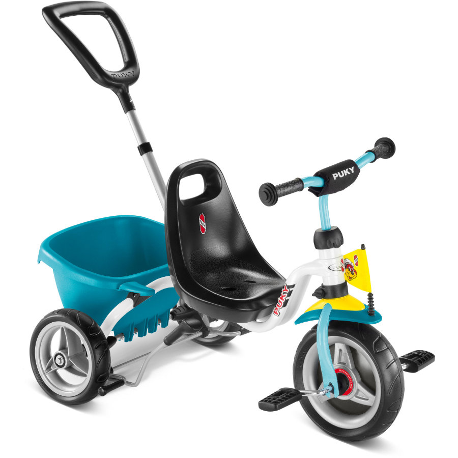 PUKY Tricycle CAT 1S, blanc/menthe