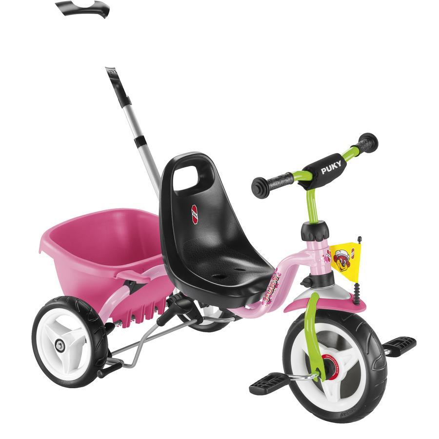 PUKY tre-hjuls cykel CAT 1S - rose/kiwi