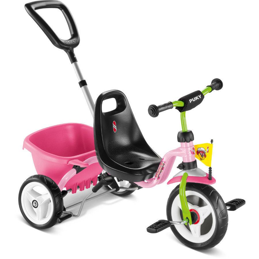 PUKY Triciclo CAT 1S - rosa/kiwi