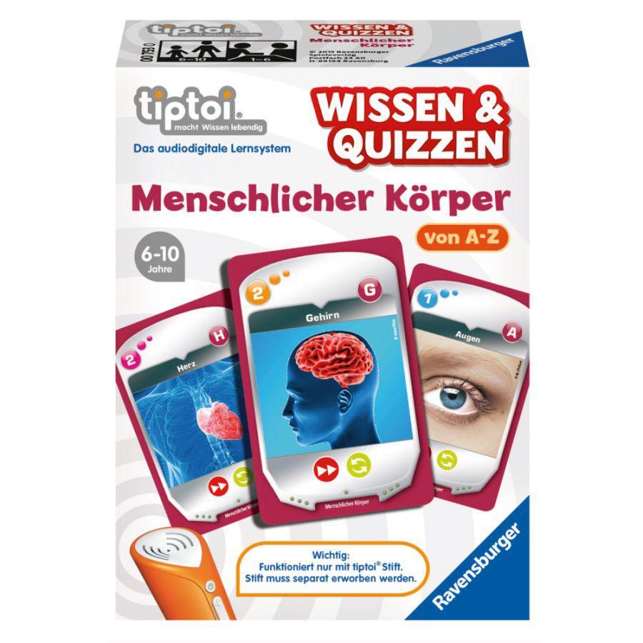 RAVENSBURGER tiptoi® Wissen & Quizzen: Menschlicher Körper