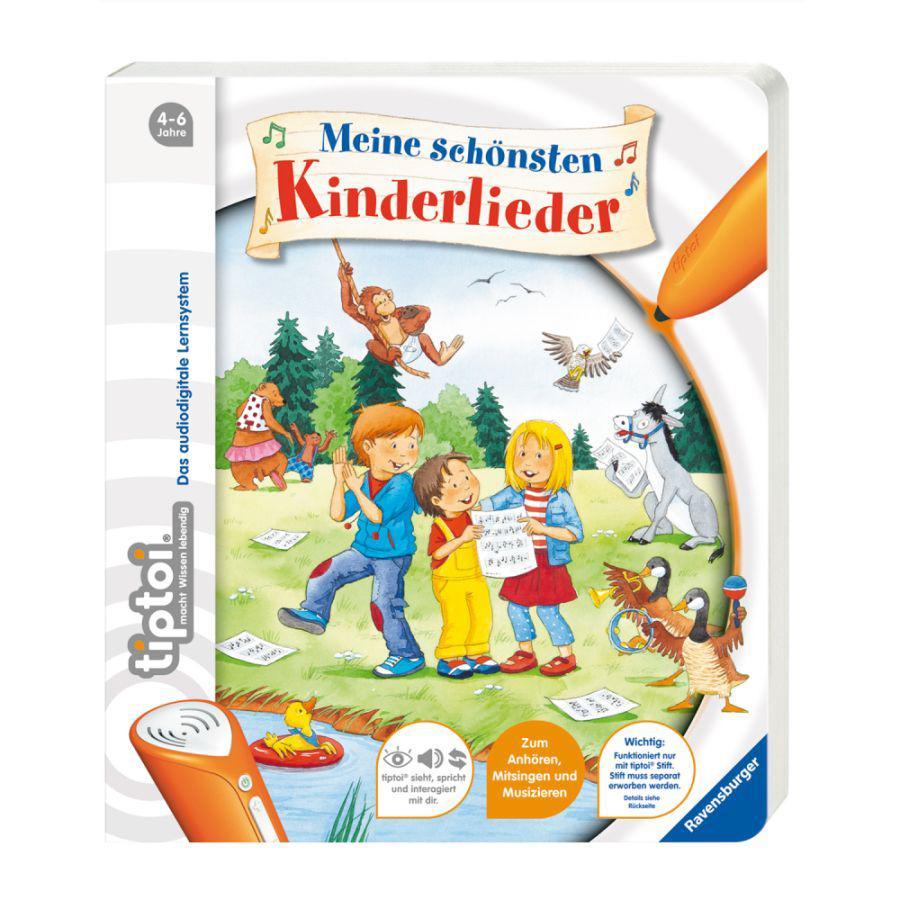 Ravensburger tiptoi® Meine schönsten Kinderlieder