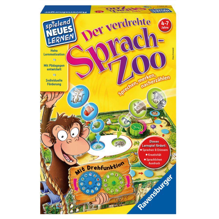 RAVENSBURGER Spielend Neues Lernen: Der verdrehte Sprach-Zoo