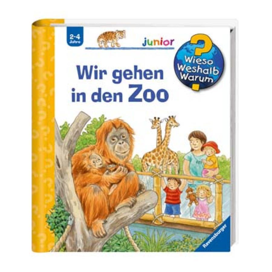 RAVENSBURGER Wieso? Weshalb? Warum? Junior 30: Wir gehen in den Zoo