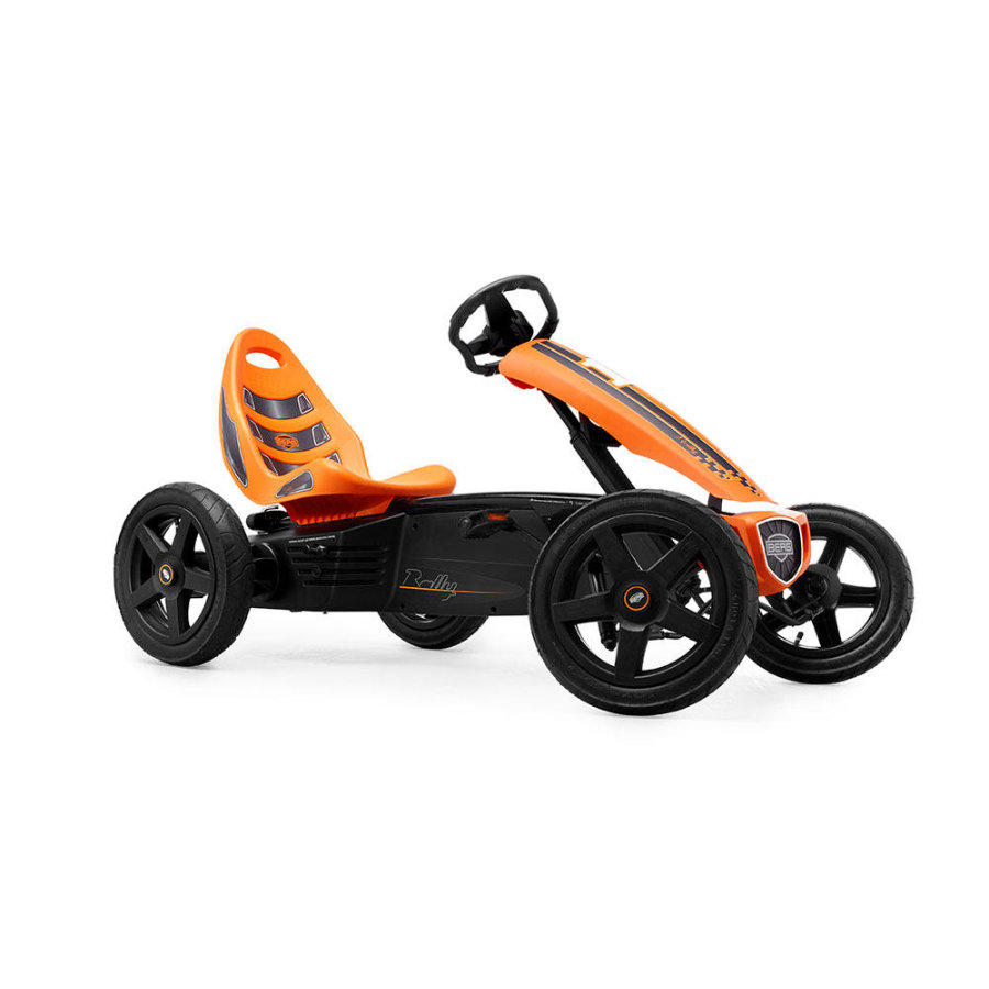 BERGTOYS Kart à pédales Berg Rally Orange