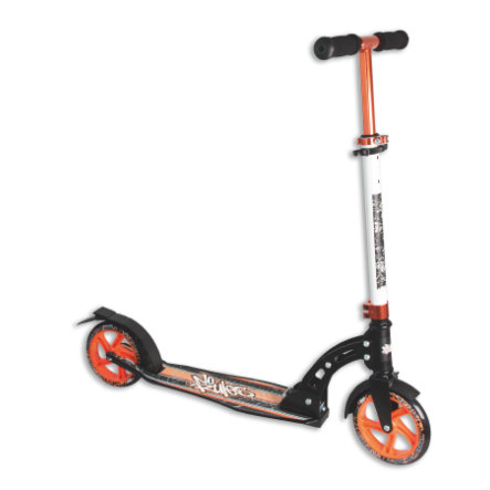 AUTHENTIC SPORTS Aluminium Step Scooter No Rules 180mm, zwart-oranje