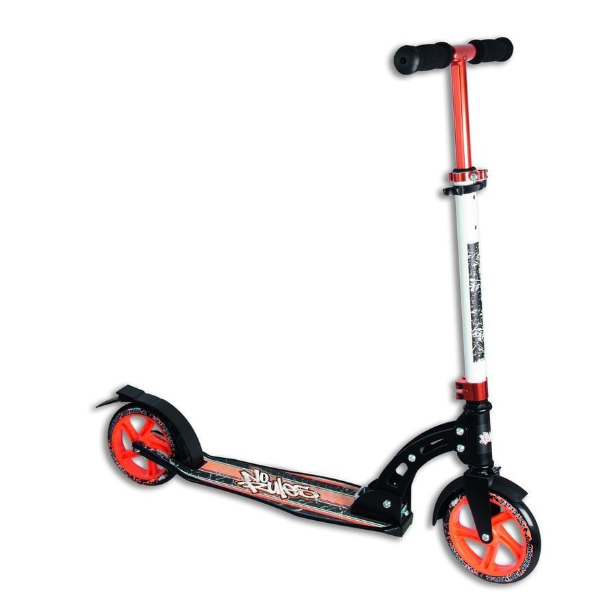 AUTHENTIC SPORTS Aluminium Step Scooter No Rules 180mm, zwart-oranje