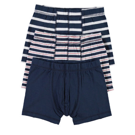 NAME IT Boys Boxershort 3er Pack dress blues