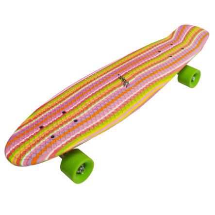 AUTHENTIC SPORTS Skateboard fun, deluxe - Rainbow
