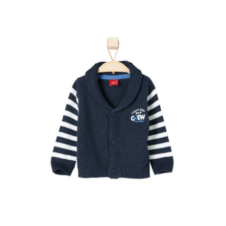 s.OLIVER Boys Strickjacke dark blue