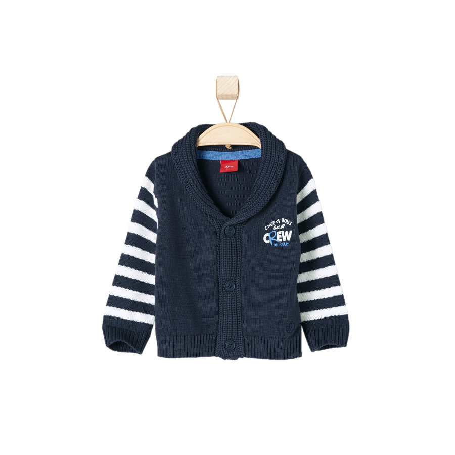 s.OLIVER Boys Sweter dark blue