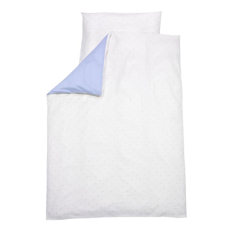 ALVI Parure de lit Bellybutton Classic Star, bleu, 100 x 135 cm