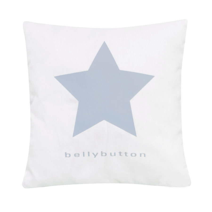 ALVI Coussin de décoration Bellybutton Classic Star, bleu, 30 x 30 cm