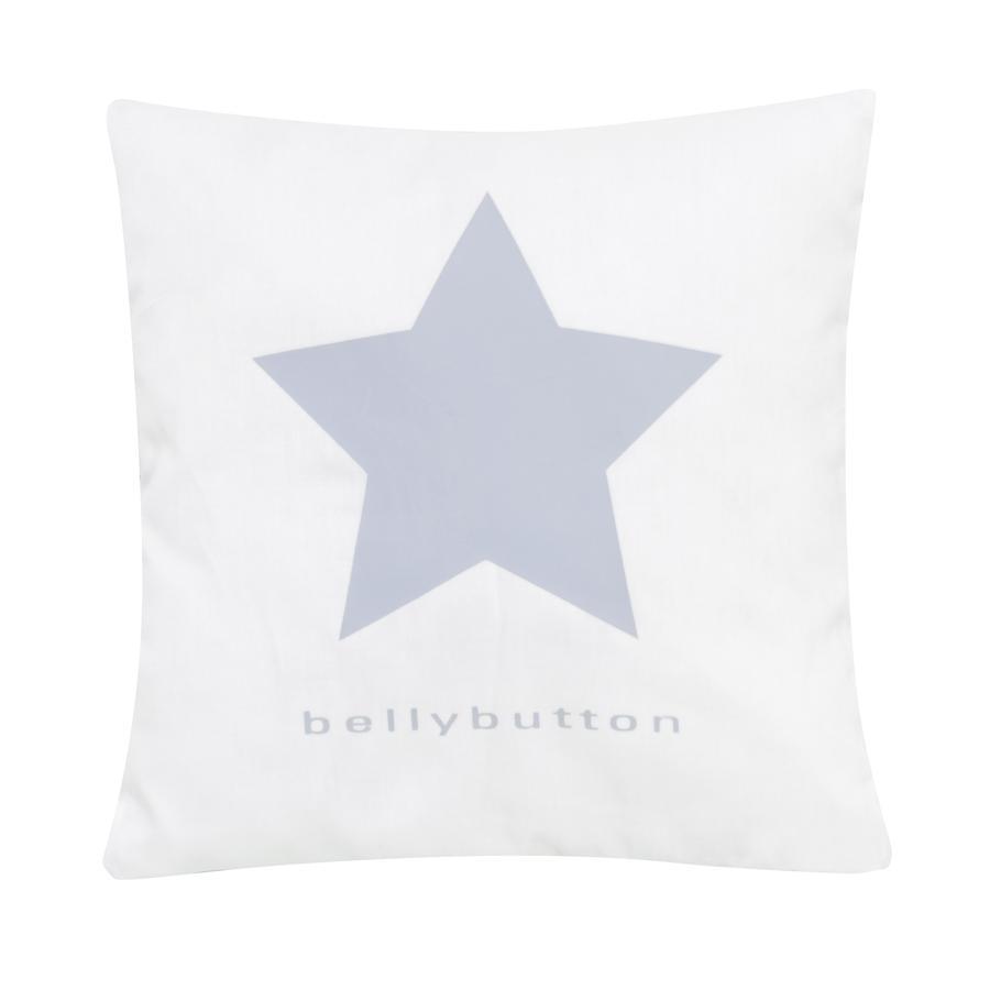 ALVI Kussen bellybutton classic star blue 30x30 cm