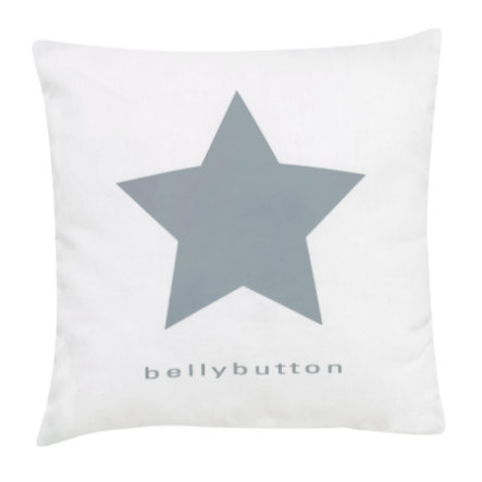 ALVI Kussen bellybutton classic star grey 30x30 cm