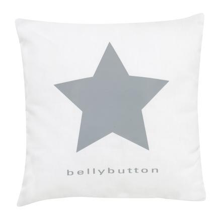 ALVI Prydnadskudde bellybutton classic star grey 30x30 cm