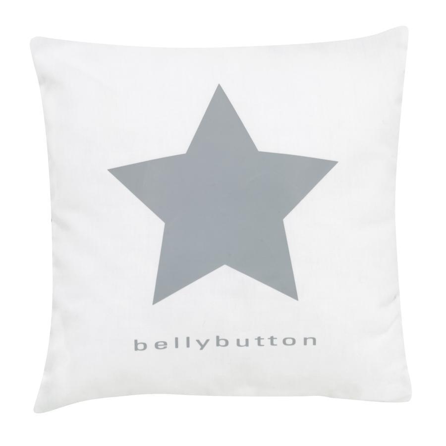 ALVI Dekokissen bellybutton classic star grey 30x30 cm