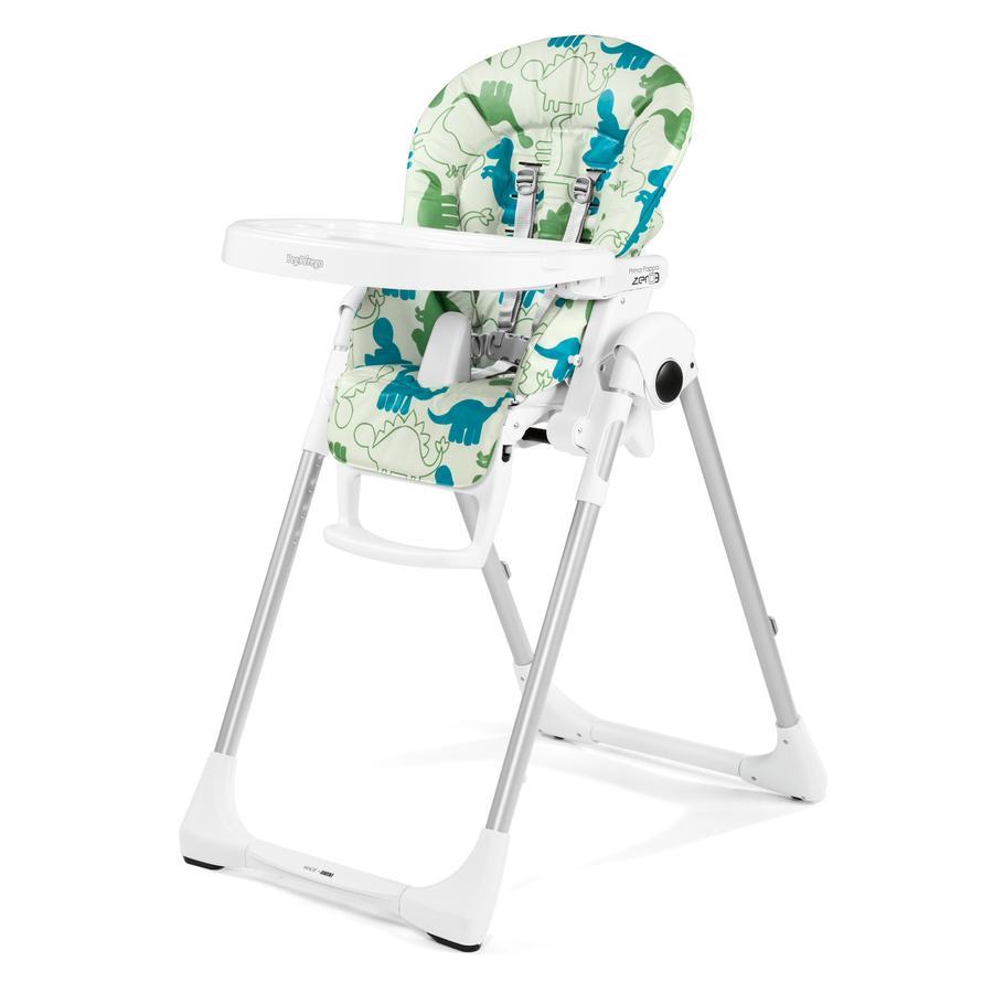 PEG-PEREGO Jídelní židlička Prima Pappa Zero3 Dino Park Bianco