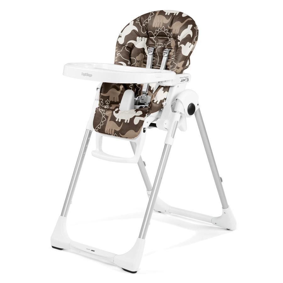 PEG-PEREGO Krzesełko do karmienia Prima Pappa Zero3 Dino Park Marrone