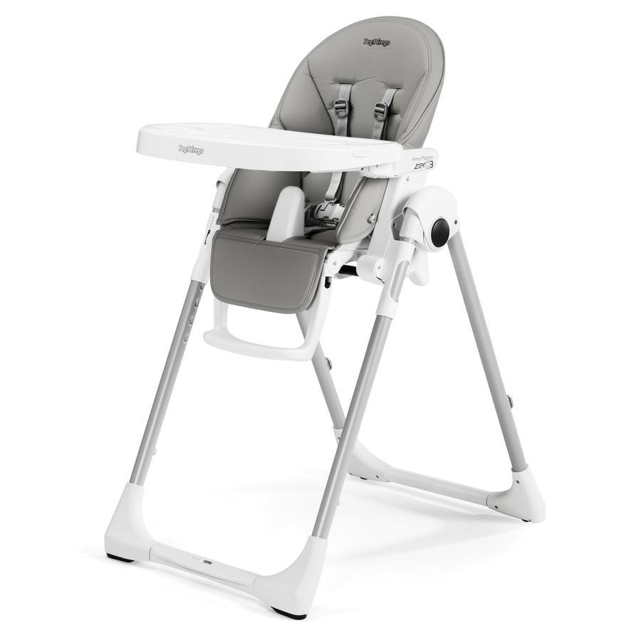 PEG-PEREGO Krzesełko do karmienia Prima Pappa Zero3 Ice (imitacja skóry)