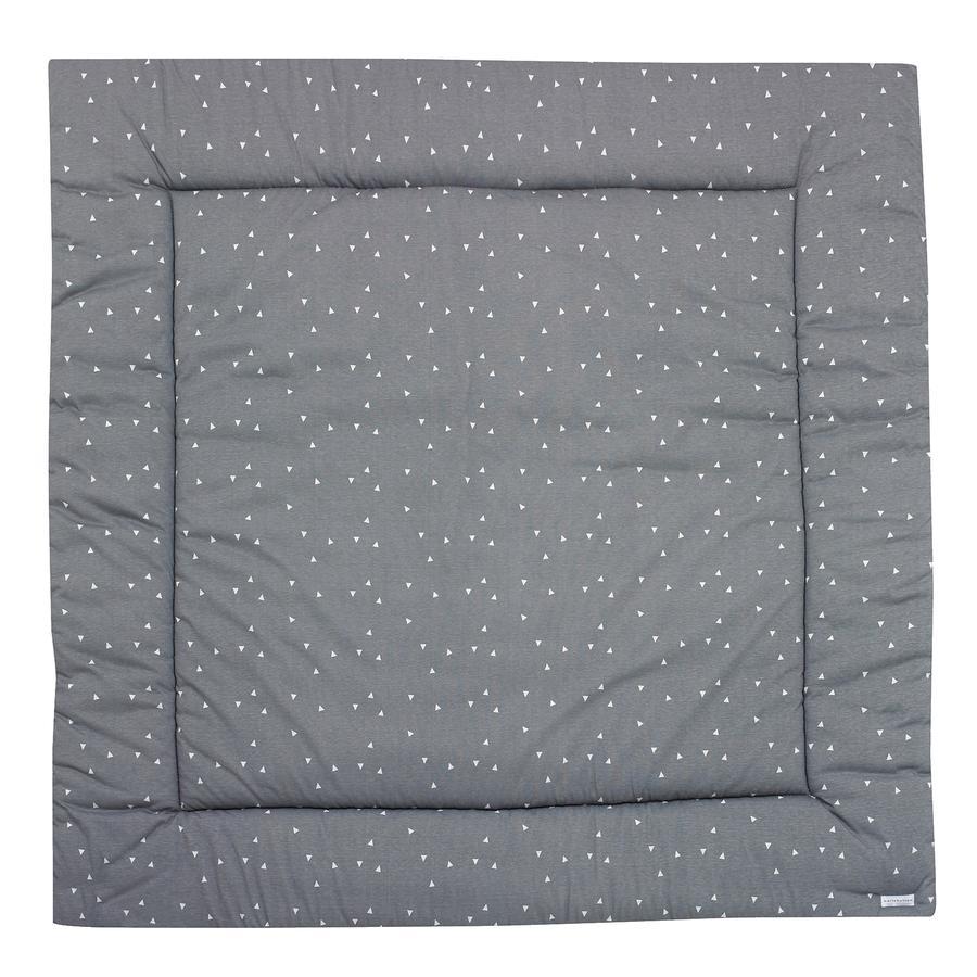 ALVI Couverture d'éveil Bellybutton Jersey Édition limitée, blanc, 120 x 120 cm
