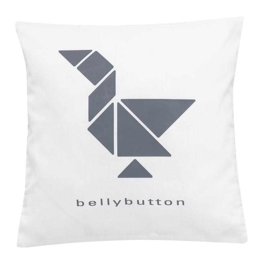 ALVI Prydnadskudde bellybutton limited edition grey 30x30 cm