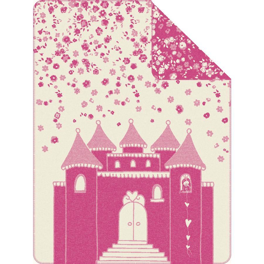 s.OLIVER Kocyk żakardowy pink 150x200cm