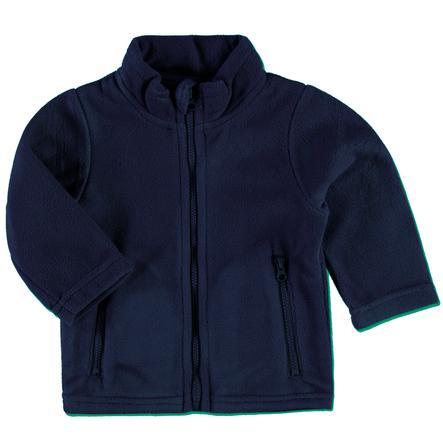 PINK OR BLUE Fleecejacke mit Stehkragen marine