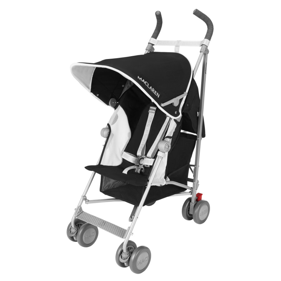 MacLaren Buggy Globetrotter Black/White