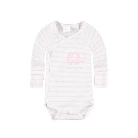 KANZ Girls Baby Wickelbody 1/1 Arm yard stripe